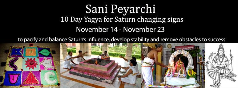 Sani Peyarchi - Saturn Changing Signs